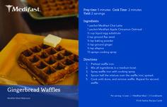 Waffles for breakfast! #Medifast