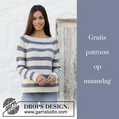 Gratis patroon op maandag - Damestrui. Ontvang ieder maandag het gratis patroon en een leuke aanbieding van het garen.