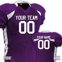 cd09ac59545 Amazon.com: Pretty. Tough. 'Nuff Said.... Okay a bit more. Your Names, Your  Numbers. OK Done. HK Sportswear · Custom Football Jerseys