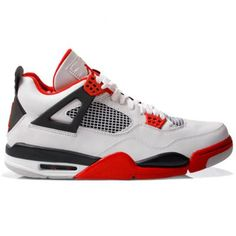 innovative design cc32c c090b 308497-110 AIR JORDAN IV (4) RETRO FIRE RED 2012 WHITE VARSITY RED-BLACK-jordan  shoes,nike shoes,adidas shoes