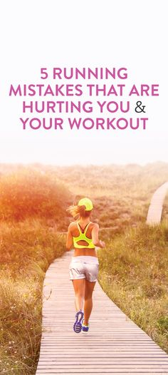 running mistakes and how they're hurting your body and your workout #fitness #cardio