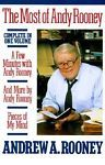 The Most of Andy Rooney by Andy Rooney Hardcover Book