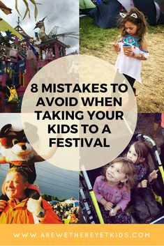 Family Friendly Festivals - here are 8 common mistakes parents make when taking their kids to a festival. Never fear, we've all the solutions to make sure you enjoy the music, food, fairgrounds and crafts stress free! Camping Games Kids, Camping Parties, Camping With Kids, Travel With Kids, Family Travel, Family Camping, Festival Packing List, Weekend Festival, Festival Guide