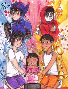 Hiro se ha traído su tesis consigo a sus vacaciones en la Riviera May… #fanfic # Fanfic # amreading # books # wattpad Glitter Force, Disney Ships, Disney Art, Sailor Moon, Grimgar, The Big Hero, Disney Crossovers, Slash, Twisted Disney