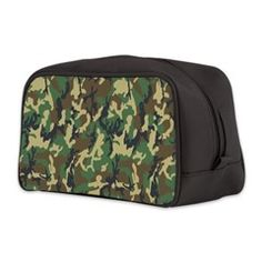 military camouflage Toiletry Bag