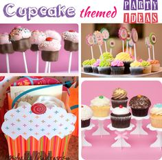 Cupcake Party Ideas! Love them