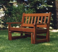 This Elegant Cedar Garden Glider gives a smooth, rhythmic motion for hours gliding gracefully back and forth in your favorite spot.