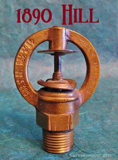 My Fire Sprinkler Collection Fire Sprinkler System, Sprinkler Heads, Fire Training, Antique Iron, Fire Safety, Firefighter, Plumbing, Barware, Sprinklers