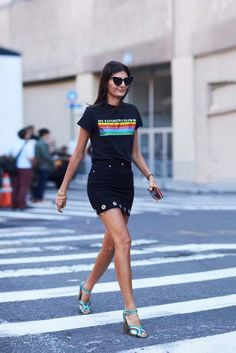 The Latest Street Style From New York Fashion Week via @WhoWhatWear