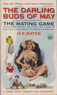 643 best movie and tv tie in books images on pinterest book covers bates the darling buds of may signet books movie tie in the mating game starring debbie reynolds tony randall and paul douglas fandeluxe Images
