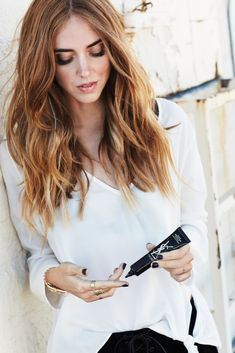 Chiara Ferragni. Her hair,  though.