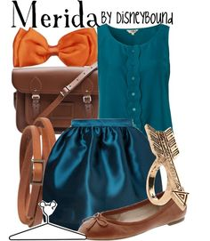 """Merida"" by lalakay ❤ liked on Polyvore"