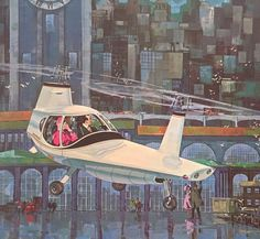 """Filper Beta 200, early 1960s"" ~retro-futurism - Retro Science Fiction"
