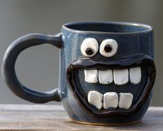 This cup looks giddy for some coffee! #Coffee #Mugs #MrCoffee