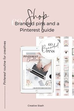 How can you create Pinterest routine? Learn all about it in this new guide.  The Challenge Pinterest Guide - 50 pages Ebook PDF. This guide can get you started quickly and is full of Tools & Resources to help build and maintaining routine on Pinterest. #pinterestgraphics #pinterestguide