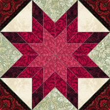 Quilter's Design Board > Unknown Star - Jenny Beyer