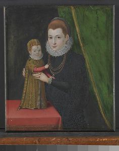 Mary, Queen of Scots, with Her Son, James