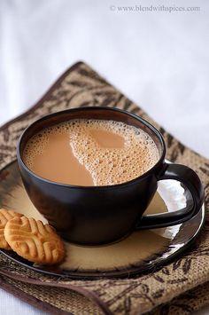 Allam Tea - Adrak Chai Recipe - Indian Ginger Cardamom Tea Recipe | Indian Cuisine