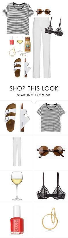 """""""bla bla bla"""" by frederikke-e ❤ liked on Polyvore featuring TravelSmith, Monki, DKNY, Nordstrom, Calvin Klein and Essie"""