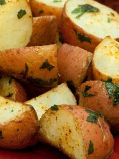 Herb-Roasted Red Bliss Potatoes, an easy and fast dinner solution