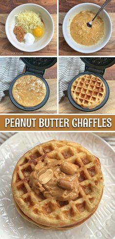 Ahhmaazing for breakfast! Easy Sweet Peanut Butter Chaffles Looking for keto breakfast ideas for beginners? This Easy Keto Peanut Butter Keto Foods, Ketogenic Recipes, Low Carb Recipes, Diet Recipes, Snack Recipes, Ketogenic Diet, Diet Desserts, Keto Meal, Keto Snacks