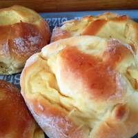 Vanília pudingos csiga Hamburger, Bread, Food, Essen, Hamburgers, Breads, Baking, Buns, Yemek