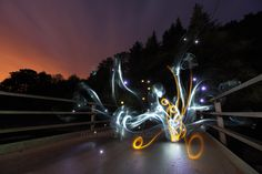 Light Painting - Light graffiti - Michael Bosanko - 20/06/2011
