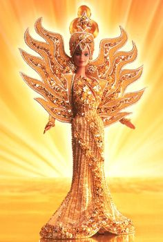 Bob Mackie Goddess of the Sun® Barbie® Doll  Limited Edition  Release Date: 1/1/1995
