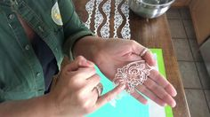 The easiest cake lace ever! Stays flexible, no mixing, and releases from the mat with ease. Flex Frost from Photo Frost. Edible Lace, Decorator Frosting, Cake Decorating Tutorials, Cake Tutorial, Baking Tips, Super Easy, Cookies, Cupcake, Youtube