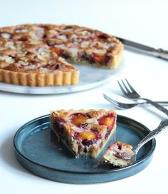Quiche, Breakfast, Plum, Sweet Tooth, French Toast, Sweets, Drinks, Cake, Desserts