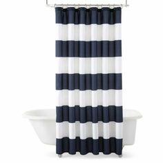 Nautical Bathroom Shower Curtain