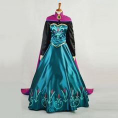 Disney Frozen Elsa Costume Elsa Coronation Cosplay Outfit,elsa coronation dress Custom Any Size For adult,Kids And Plus Size Costume Princesse Disney, Disney Princess Costumes, Disney Princess Dresses, Disney Costumes, Disney Dresses, Princess Anna, Mermaid Costumes, Adult Costumes, Cosplay Costumes For Sale