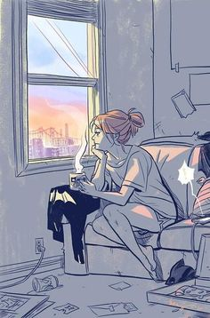 Barbara Gordon in Burnside by Becky Cloonan