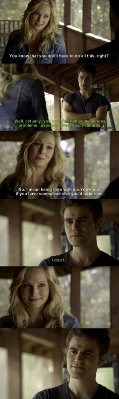 The Vampire Diaries TVD 6x14 - Stefan & Caroline