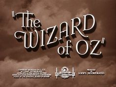 """The Silver Screen Affair: """"The Wizard of Oz"""""""