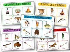 Loto des indiens d'Amérique à imprimer gratuitement, Loto indiens maternelle Indiana, Teaching Kindergarten, Preschool, American Indians, Native American, Cowboy Birthday Party, Indian Theme, Bingo, Indian Crafts