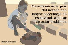 #Mauritania es el país del mundo con mayor porcentaje de #esclavitud