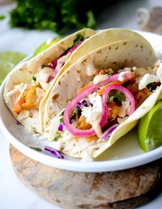 Baja Fish Tacos with Pickeled Onions and Cabbage – Recipe Diaries