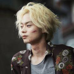 Blonde Hair Japanese, Princess Jellyfish, Blonde Asian, Human Poses Reference, Aesthetic People, Japanese Boy, Asian Actors, Pretty People, Asian Boys