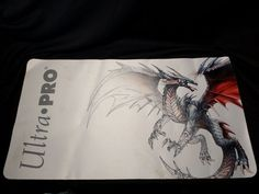 Playmat fits nicely on any smooth surface. Made by ULTRA PRO. Game Cards, Card Games, Mtg, Vintage Toys, Dragon, Old Fashioned Toys, Dragons, Playing Card Games, Old School Toys