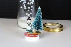 Déco+Noël+bonhomme+de+neige+à+faire+soi-même+avec+mason+jar