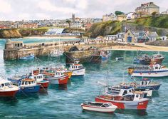 Newquay - by Terry Harrison