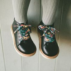 young soles london // liberty shoelaces