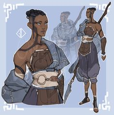 Female Character Design, Character Creation, Character Design References, Character Drawing, Character Design Inspiration, Character Concept, Dungeons And Dragons Characters, Dnd Characters, Fantasy Characters
