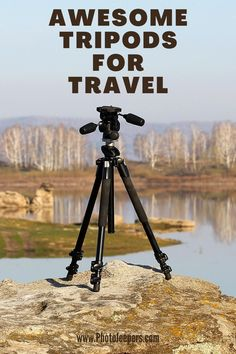 If you're a photographer that enjoys travel, you need a compact tripod that's sturdy, but also lightweight. This guide will help you find the best lightweight travel tripod that is compact and portable to suit your photography style, budget and activity level. #photography #cameragear #phototip #tripod #photojeepers Best Landscape Photography, Photography Gear, Take Better Photos, Travel Gadgets, New Travel, Taking Pictures, Tripod, Trip Planning, Adventure Travel