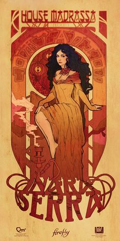 Firefly Serenity Les Femmes Poster Set at TFAW.com