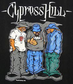 VINTAGE 90'S CYPRESS HILL RAP HIP HOP Cypress Hill, Graffiti Characters, Hip Hop Art, Tumblr Wallpaper, Print And Cut, Amazing Art, Old School, Rap, Cool Art