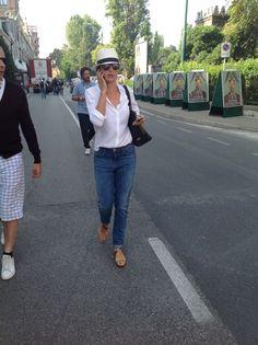 Luisa Ranieri, madrina della 71esima edizione della Mostra del cinema di Venezia