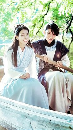 Moon Lovers Scarlet Heart Ryeo : Wang So (Lee Joon Gi) and Hae Soo (Lee Ji Eun/IU)