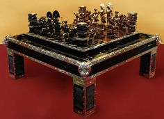 Private collection of chess sets
